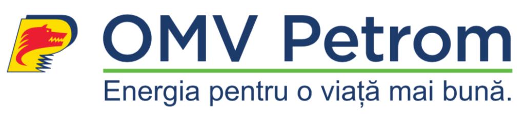 Logo al finantatorului programului, OMV Petrom